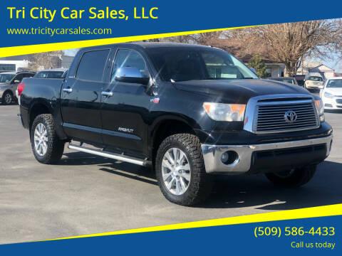 2011 Toyota Tundra for sale at Tri City Car Sales, LLC in Kennewick WA