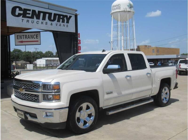 2014 Chevrolet Silverado 1500 for sale at CENTURY TRUCKS & VANS in Grand Prairie TX