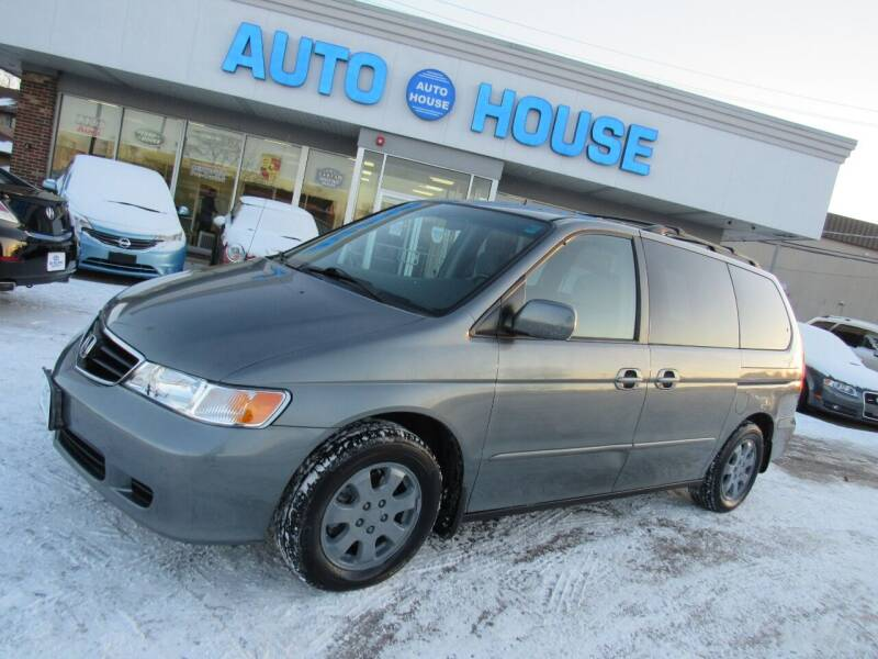 2002 Honda Odyssey for sale at Auto House Motors in Downers Grove IL