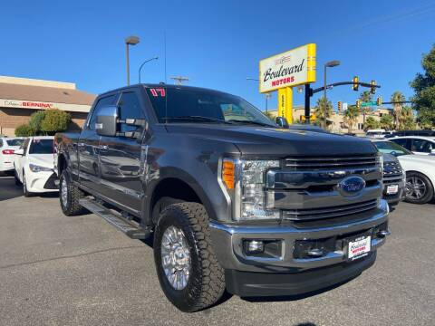 2017 Ford F-250 Super Duty for sale at Boulevard Motors in St George UT