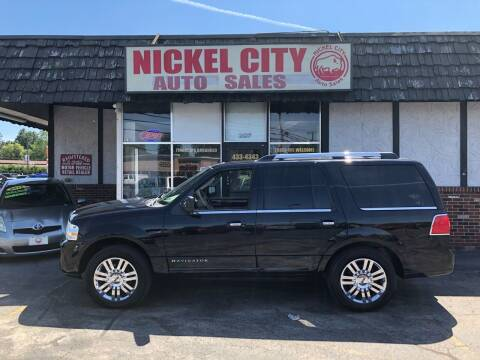 2009 Lincoln Navigator for sale at NICKEL CITY AUTO SALES in Lockport NY