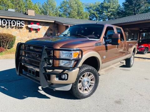 2011 Ford F-350 Super Duty for sale at Classic Luxury Motors in Buford GA