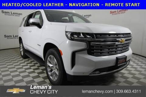 2021 Chevrolet Tahoe for sale at Leman's Chevy City in Bloomington IL