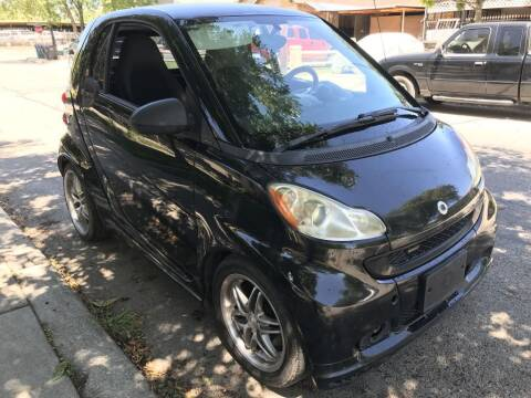 2009 Smart fortwo for sale at Carzready in San Antonio TX