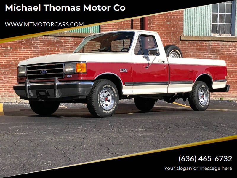 1990 Ford F-150 for sale at Michael Thomas Motor Co in Saint Charles MO