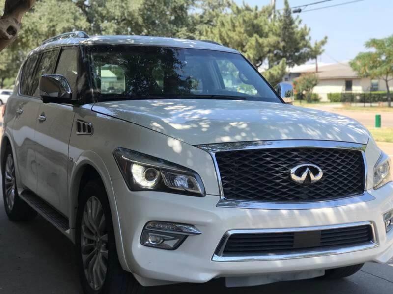 2017 Infiniti QX80 for sale at Makka Auto Sales in Dallas TX
