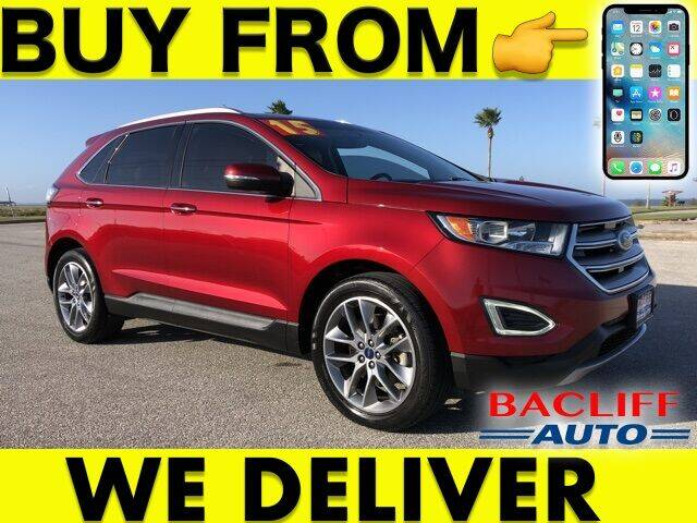 2015 Ford Edge for sale at Bacliff Auto in Bacliff TX