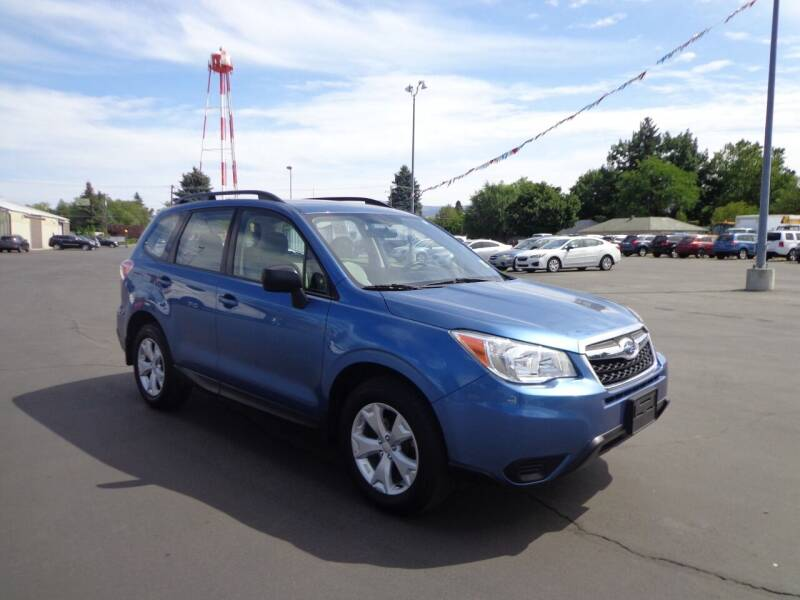 2016 Subaru Forester for sale at New Deal Used Cars in Spokane Valley WA