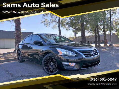 2015 Nissan Altima for sale at Sams Auto Sales in North Highlands CA