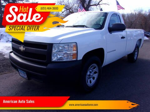 2008 Chevrolet Silverado 1500 for sale at American Auto Sales in Forest Lake MN
