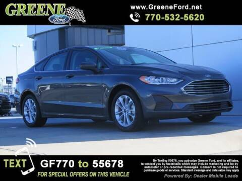 2019 Ford Fusion for sale at NMI in Atlanta GA