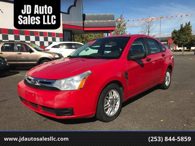 2008 Ford Focus for sale at JD Auto Sales LLC in Fife WA