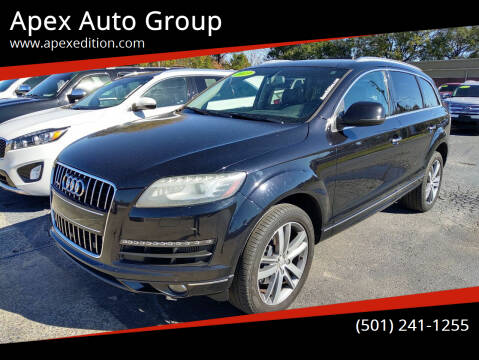 2013 Audi Q7 for sale at Apex Auto Group in Cabot AR