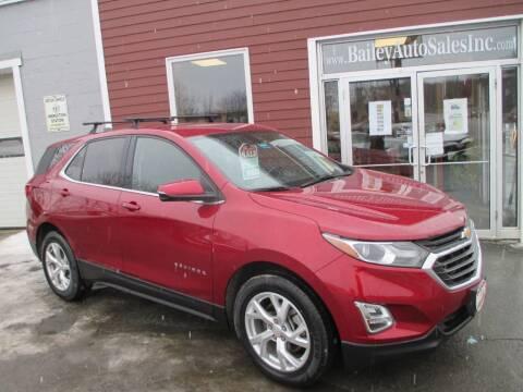 2018 Chevrolet Equinox for sale at Percy Bailey Auto Sales Inc in Gardiner ME