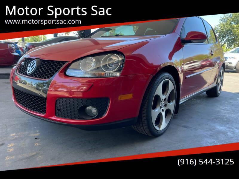 2007 Volkswagen GTI for sale at Motor Sports Sac in Sacramento CA