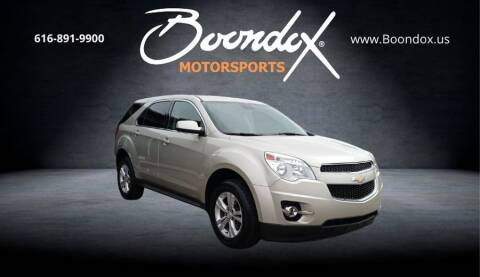 2015 Chevrolet Equinox for sale at Boondox Motorsports in Caledonia MI