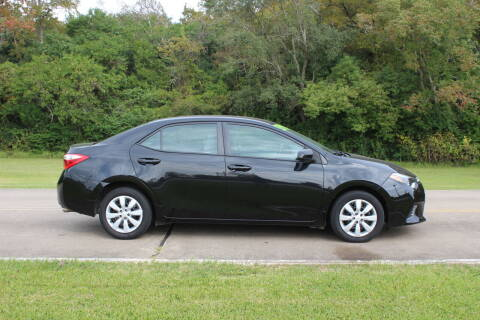 2016 Toyota Corolla for sale at Clear Lake Auto World in League City TX