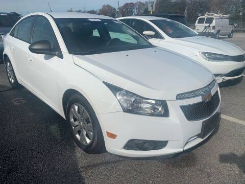 2014 Chevrolet Cruze for sale at Drive Now Motors in Sumter SC