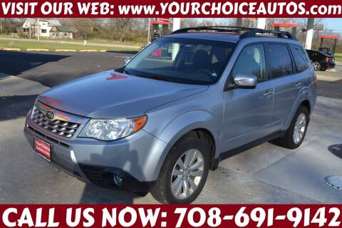 2013 Subaru Forester for sale at Your Choice Autos - Crestwood in Crestwood IL