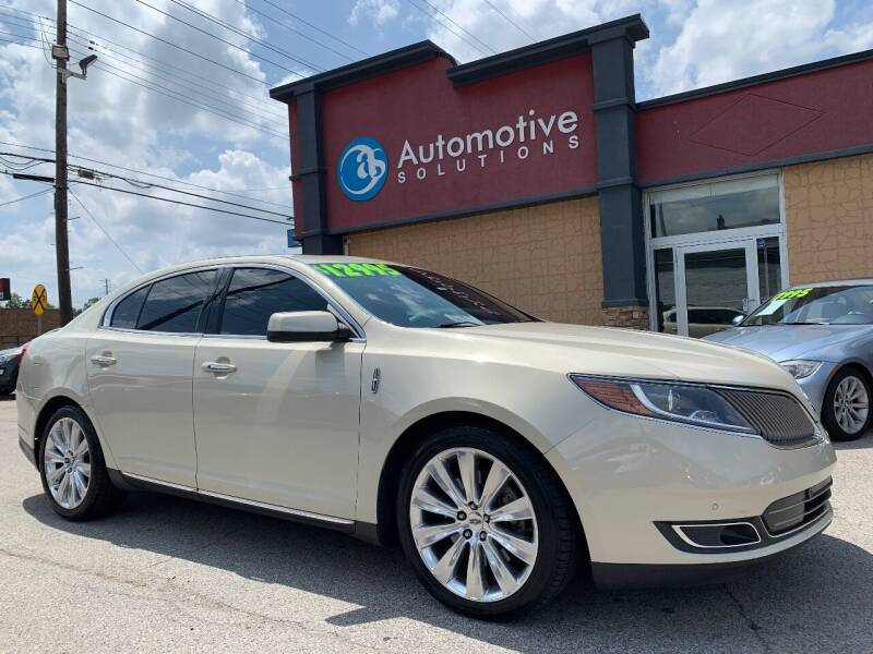 2014 Lincoln MKS for sale at Automotive Solutions in Louisville KY