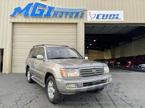 2003 Toyota Land Cruiser for sale at MGI Motors in Sacramento CA