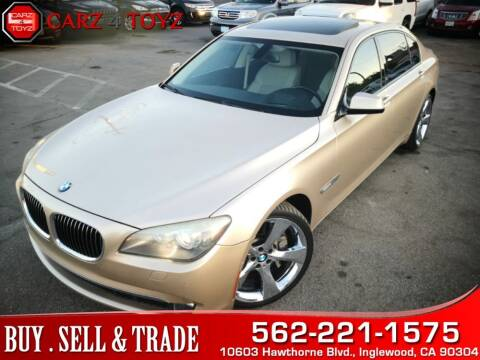 2009 BMW 7 Series for sale at Carz 4 Toyz in Inglewood CA