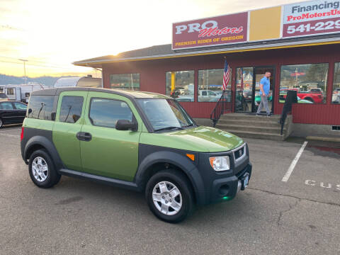 2006 Honda Element for sale at Pro Motors in Roseburg OR