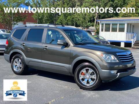 2009 Kia Borrego for sale at Town Square Motors in Lawrenceville GA