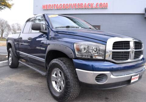 2006 Dodge Ram Pickup 1500 for sale at Heritage Automotive Sales in Columbus in Columbus IN