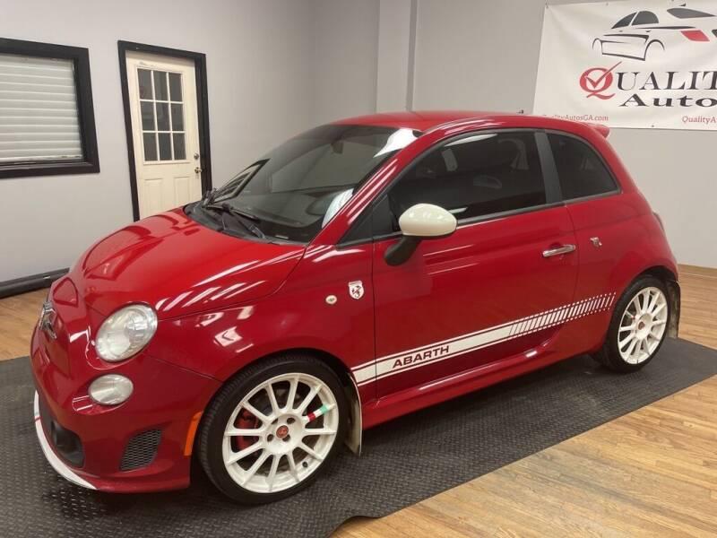 2012 FIAT 500 for sale at Quality Autos in Marietta GA