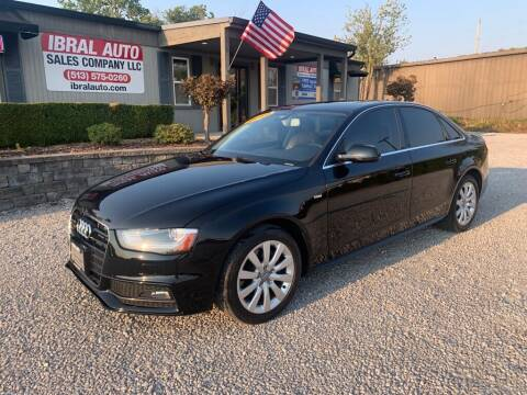 2015 Audi A4 for sale at Ibral Auto in Milford OH