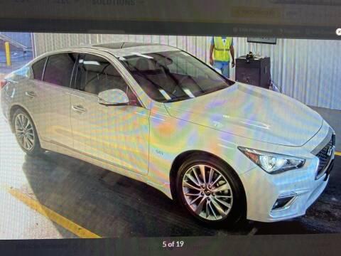 2019 Infiniti Q50 for sale at JOE BULLARD USED CARS in Mobile AL