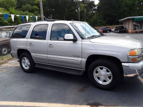 2004 GMC Yukon for sale at A-1 Auto Sales in Anderson SC