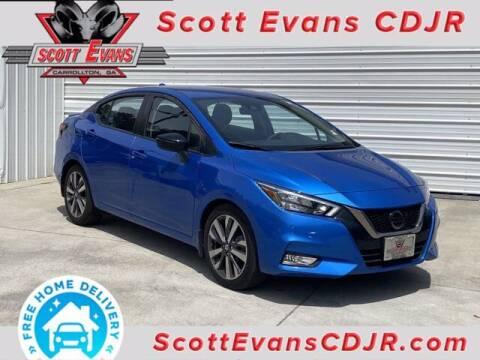 2020 Nissan Versa for sale at SCOTT EVANS CHRYSLER DODGE in Carrollton GA