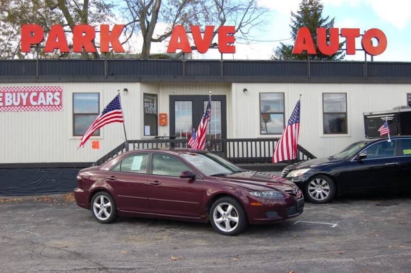 2007 Mazda MAZDA6 for sale at Park Ave Auto Inc. in Worcester MA