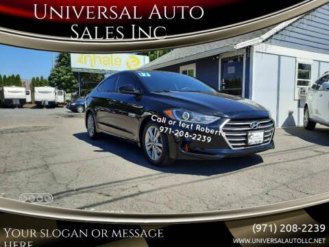2017 Hyundai Elantra for sale at Universal Auto Sales Inc in Salem OR
