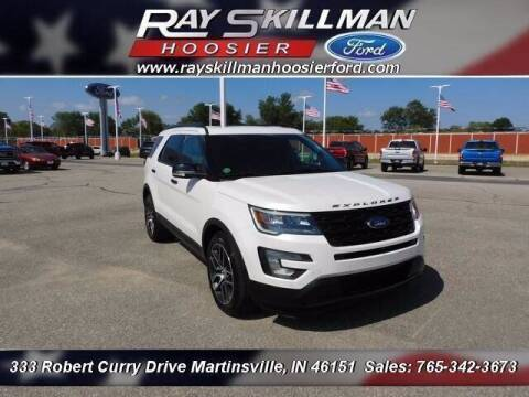2016 Ford Explorer for sale at Ray Skillman Hoosier Ford in Martinsville IN