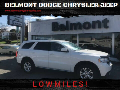 2012 Dodge Durango for sale at BELMONT DODGE CHRYSLER JEEP in Barnesville OH
