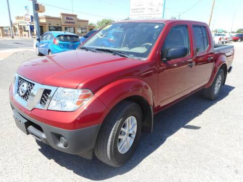 2019 Nissan Frontier for sale at AUGE'S SALES AND SERVICE in Belen NM