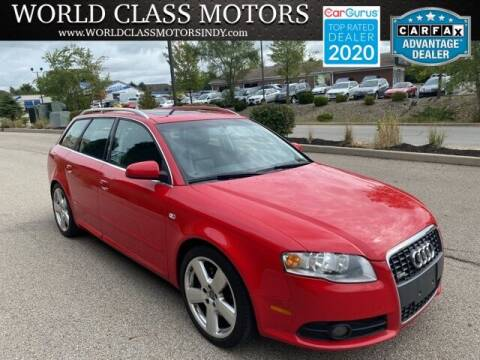 2007 Audi A4 for sale at World Class Motors LLC in Noblesville IN