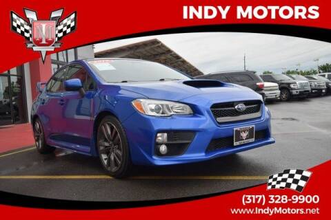 2017 Subaru WRX for sale at Indy Motors Inc in Indianapolis IN