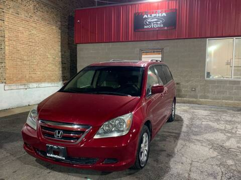 2006 Honda Odyssey for sale at Alpha Motors in Chicago IL