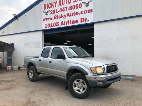 2003 Toyota Tacoma for sale at Ricky Auto Sales in Houston TX