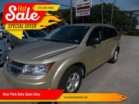 2010 Dodge Journey for sale at Deer Park Auto Sales Corp in Newport News VA