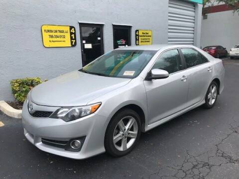 2014 Toyota Camry for sale at FLORIDA CAR TRADE LLC in Davie FL