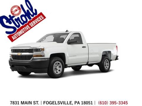 2017 Chevrolet Silverado 1500 for sale at Strohl Automotive Services in Fogelsville PA