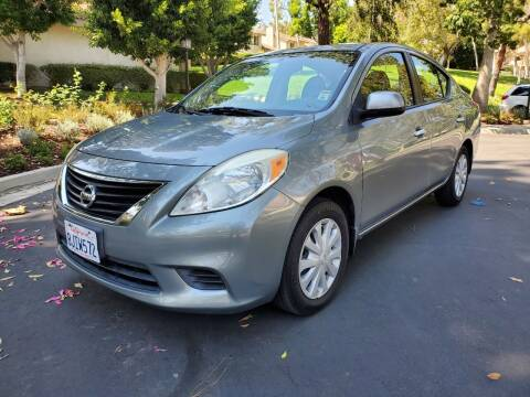 2012 Nissan Versa for sale at E MOTORCARS in Fullerton CA