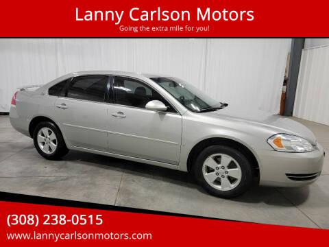 2008 Chevrolet Impala for sale at Lanny Carlson Motors in Kearney NE