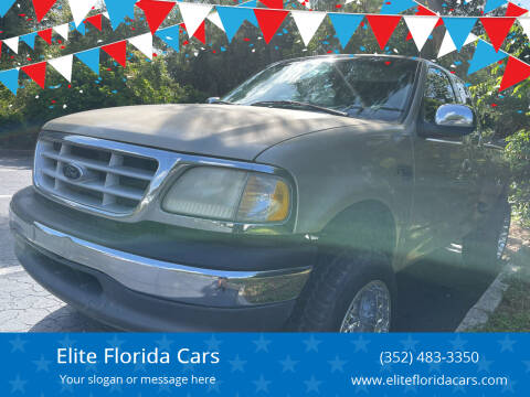 1999 Ford F-150 for sale at Elite Florida Cars in Tavares FL