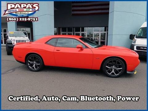 2019 Dodge Challenger for sale at Papas Chrysler Dodge Jeep Ram in New Britain CT